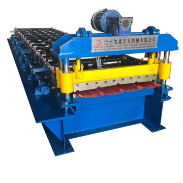 Roller Single Trapezoidal Bumbung Roll Rolling Machine