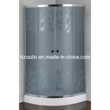 Cabina de la ducha del vidrio ácido (AS-911G)