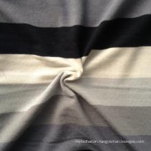 Rayon Spandex Knitting Striping Fabric (QF13-0683)