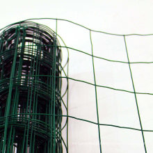 Green PVC Coated Steel Wire Mesh Fencing 120cm Garden Galvanised Fence