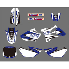 0025 New Style Team Graphics&Backgrounds Decals Stickers Kits for YAMAHA Yz85 2002 2003 2004 2005 2006 2007 08 09 10 2011 2012 Motorcycle