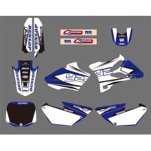 0025 новый стиль графики команды & стола Наклейки Наклейки комплекты для 2002 2003 2004 2005 2006 2007 08 09 10 2011 2012 мотоцикл YAMAHA Yz85