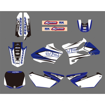 0025 estilo nova equipe gráfica & Backgrounds decalques adesivos Kits para YAMAHA Yz85 2002 2003 2004 2005 2006 2007 08 09 10 2011 2012 moto