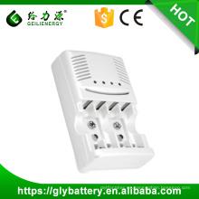 GLE-819 AA AAA cargador de batería 9v para Ni-mh / Ni-cd hecho en China