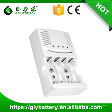 Carregador de bateria GLE-819 AA AAA 9v para Ni-mh / Ni-cd fabricado na China