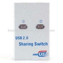 2 порта USB 2.0 Auto Sharing Переключатель принтера Переключатель сканера