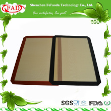 2014 FDA Hot sell double sided silicone pizza mat
