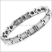 2015 nouveaux hommes Titanium Bracelet & Bangles, bracelet en énergie scalaire, bracelet bio magnétique GS8380