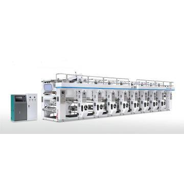 Máquina de impressão por rotogravura computadorizada de registro de filme plástico