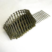 Screw Shank Coil Nails/ Vinyl-Coated Pallet Coil Nails/Screw Shank Wire Coil Nails