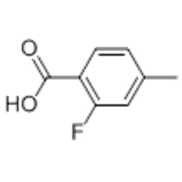 2-Fluoro-4-methylbenzoic acid CAS 7697-23-6