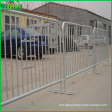 Expandable powder coated Crowd Control Barricade Barrier