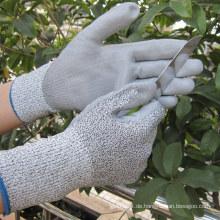 PU getauchtes, schlagfestes Handschuh Level 3 Safety Work Handschuh