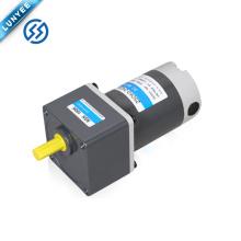 90w 12v 24v 90v high torque electric brushed dc gear motor