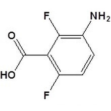 3-Амино-2,6-дифторбензойна кислота N 83141-11-1