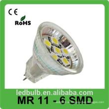 2015 neue Produkte LED-Spot-Licht MR11 6SMD LED-Leuchten