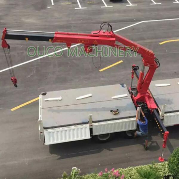 8t tmc knuckle telescopic boom crane