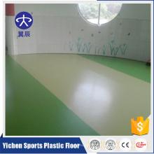 BV certificat Commercial étage Yichen pas cher PVC vinyle plancher