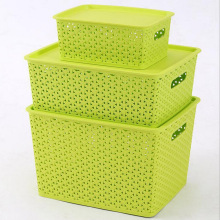 Пластмассовая коробка для хранения пластика (SLSN067)