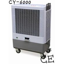 Enfriador de aire evaporativo de agua móvil