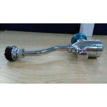 Sensor de orina válvula de descarga de inodoro y válvula de lavado de urinario de latón