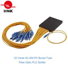 1: 32 SC / PC одномодовый в штучной упаковке волоконно-оптический разделитель ПЛК
