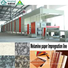 melamine paper impregnation line/Kraft paper for HPL