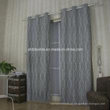 Tela européia popular cortina de janela tingida