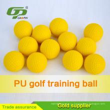Китай надувательство фабрики желтый PU Гольф галлов мягкие мячи для гольфа для практики гольфа