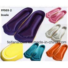 Новый дизайн дышащий ударопоглощение Ева ортопедические стельки (FF503-2)