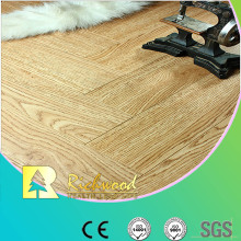 Commercial 8.3mm Embossed Hickory Waxed Edged Laminate Flooring