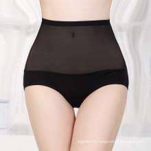 Сексуальные прозрачные трусики с высокой талией трусики пустой нижнее белье