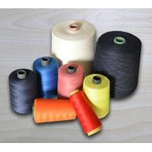 Мета-арамидная пряжа для тканой огнестойкой ткани