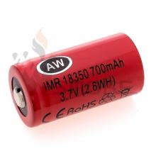 Aw18350 (700mAh / 15A) Batterie à drainage élevé