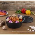 9 piezas de hierro fundido de hierro fundido de cocina olla conjunto
