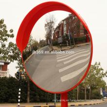 Espejo convexo del tráfico al aire libre plástico de los 60cm 24inch