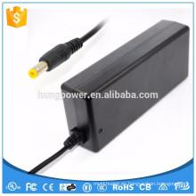 Doe 6 nivel vi Clase 2 UL enumerado CE GS SAA FCC DC 24V 4.75A 114W Fuente de alimentación 110VCC de conmutación negro adaptador de alimentación