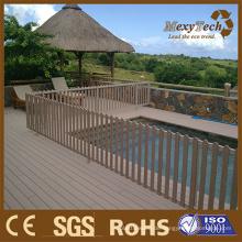 Kunststoff Holz Garten Grenze Zaun Bretter Design