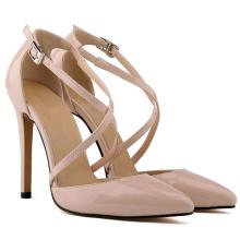 2016 Latest Fashion High Heel Lady Dress Shoes (A121)