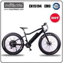 Motorlife fetter Fahrradrahmenaluminiumsuspendierung / räumliche Kreuzer / Bestseller im Jahr 2017 / elektrisches Schneefahrrad 27 Geschwindigkeit
