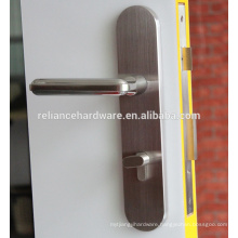 Hot Match SS Tube Door Handle with Lock Plate Lever Handle with Hot Sales