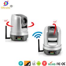 H. 264 Sony CCD día / noche infrarrojo PTZ IP domo cámara (IP-108HW)