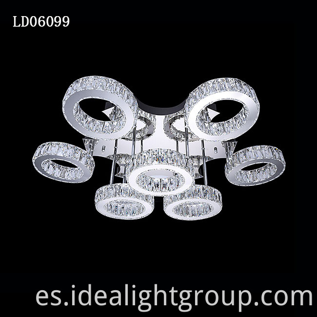 rings ceiling lamp