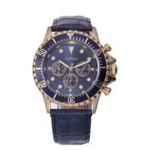 Relógio de Homens Impermeável de Alta Qualidade com Presente de Liga