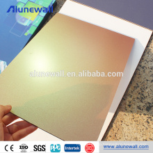 Wall paneling for new technology building materials aluminum composite panel