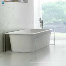 Cheap bathtub liners rectangular 1 person free standing bathtub for adults/clean acrylic bathtub
