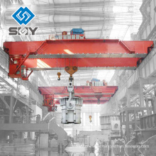 100 Tonnen YZ Schöpfkelle Doppelträger Gießereikran