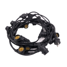 Schuko Outdoor Commercial LED string lights E27