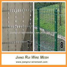 welded razor wire barrier