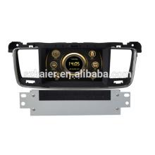 Medios directos del coche del wince de la pantalla táctil de fábrica para Peugeot 508 con GPS / 3G / DVD / Bluetooth / IPOD / RMVB / RDS
